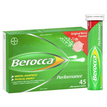 Load image into Gallery viewer, Berocca Energy Vitamin Original Berry Effervescent Tablets 45 pack