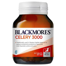 Load image into Gallery viewer, Blackmores Celery 3000 50 Tablets