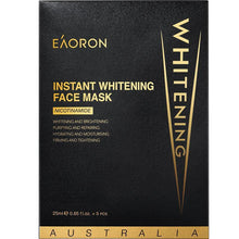 Load image into Gallery viewer, Eaoron Instant Whitening Face Mask 25ml 5 Piece
