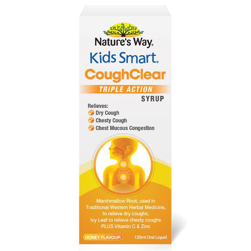 Nature's Way Kids Smart Cough Clear Day 120ml