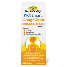 Load image into Gallery viewer, Nature's Way Kids Smart Cough Clear Day 120ml
