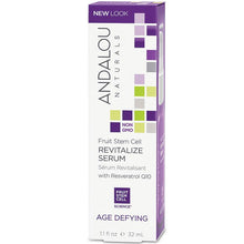 Load image into Gallery viewer, Andalou Age Defying Fruit Stem Cell Revitalize Serum 32ml