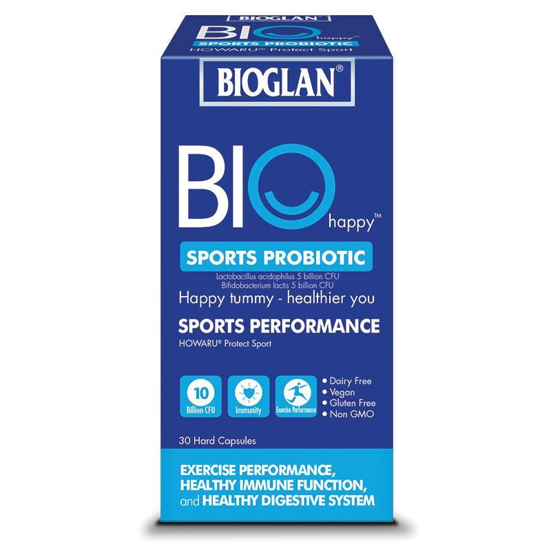 Bioglan Biohappy Sports Probiotic 30 Capsules