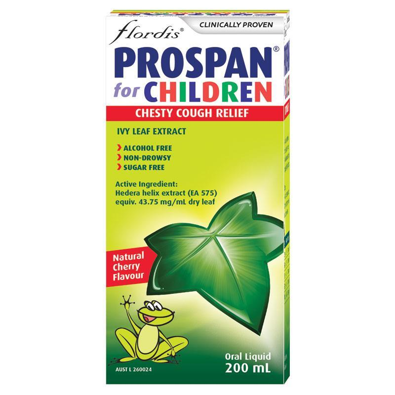 Prospan Chesty Cough for Children Ivy Leaf Extract Oral Liquid 200mL