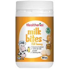 Load image into Gallery viewer, Healtheries Milk Bites New Zealand Honey 50 Bites 190g