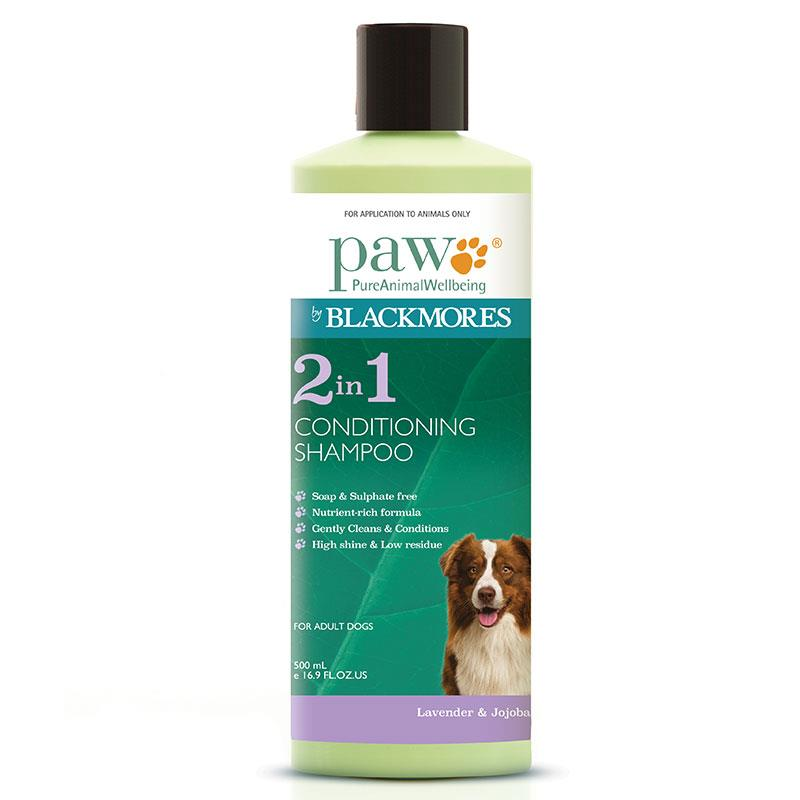 PAW by Blackmores 2-in-1 Conditioning Shampoo 500ml