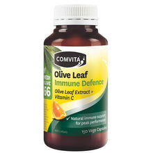Load image into Gallery viewer, COMVITA Olive Leaf Immune Defence 150 Capsules