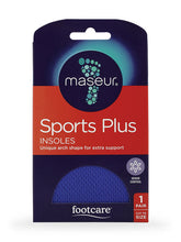 Load image into Gallery viewer, Maseur Footcare Sport Plus Insoles
