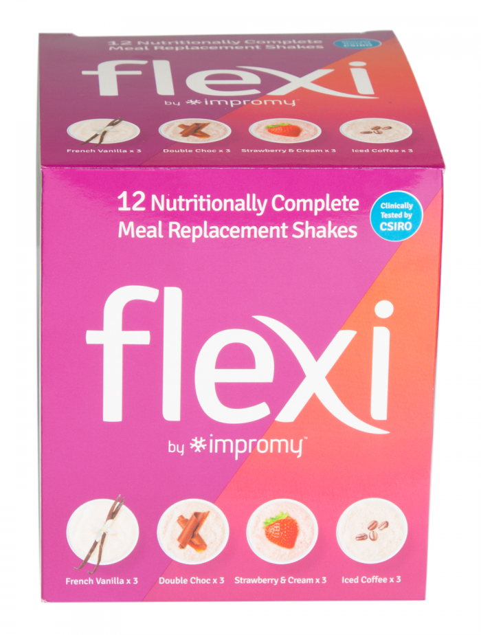 Flexi By Impromy Assorted Pack 12x42g