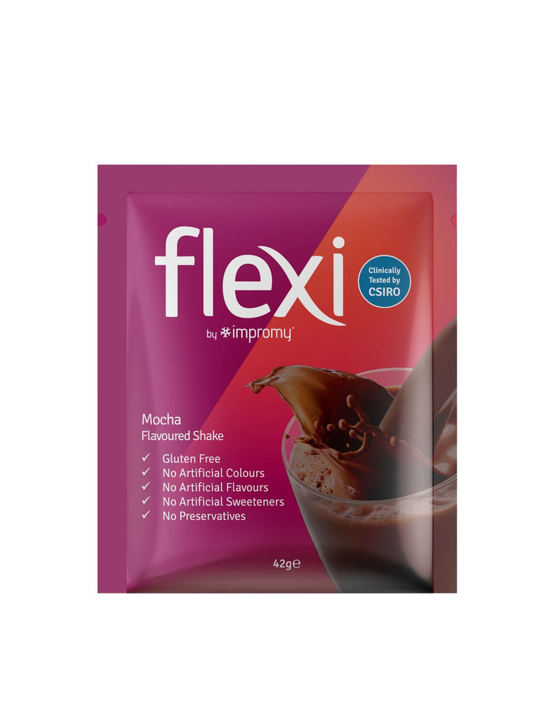 Flexi By Impromy Mocha Meal Replacement Shakes 12x42g