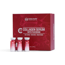 Load image into Gallery viewer, Golden Health Collagen Serum With Fucoidan 6x10ml
