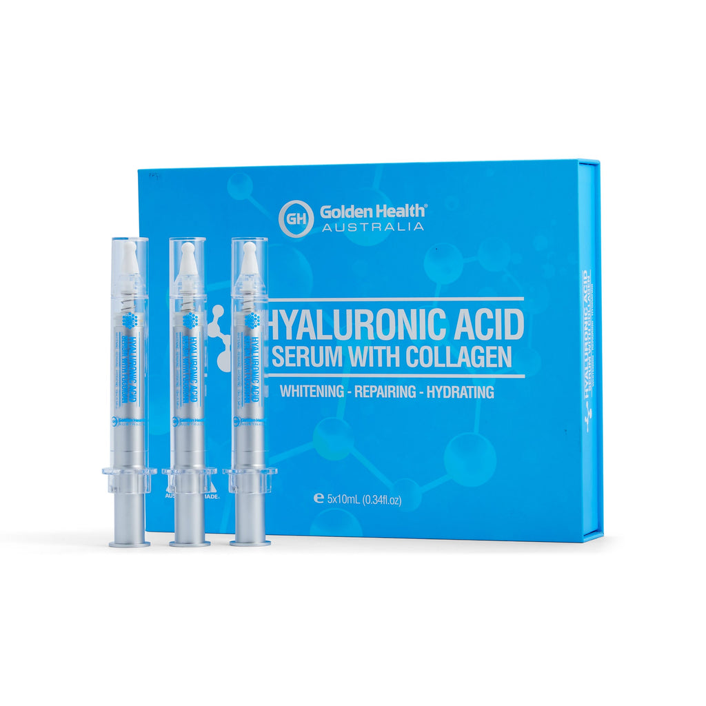 Golden Health Hyaluronic Acid Serum with Collagen 5x10ml