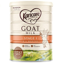 Load image into Gallery viewer, Karicare+ 1 Goats Milk Infant Formula From Birth 0-6 Months 900g