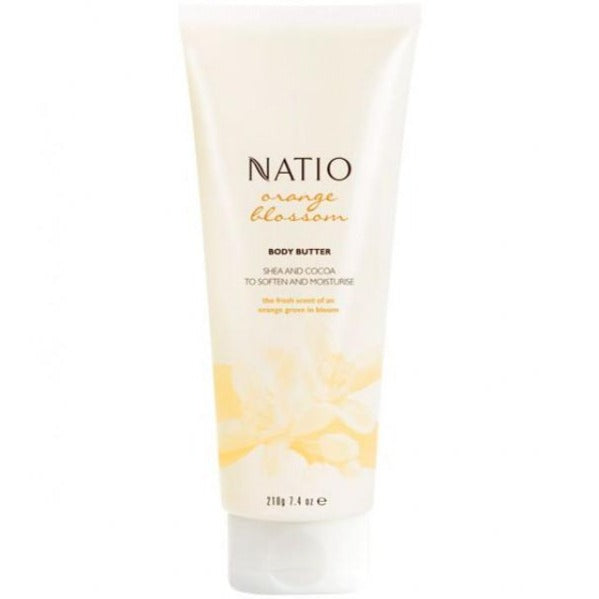 Natio Orange Blossom Body Butter 210g