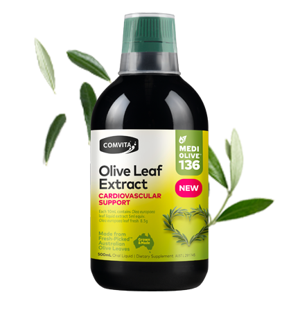 COMVITA Fresh-Picked Olive Leaf Extract Cardiovascular Support 500ml