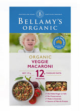 Load image into Gallery viewer, Bellamy's Organic Veggie Macaroni 12+ Months 175g