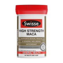 Load image into Gallery viewer, SWISSE Ultiboost High Strength Maca 60 Tablets