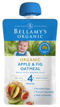 Load image into Gallery viewer, Bellamy's Organic Apple & Fig Oatmeal 4+ Months 120g