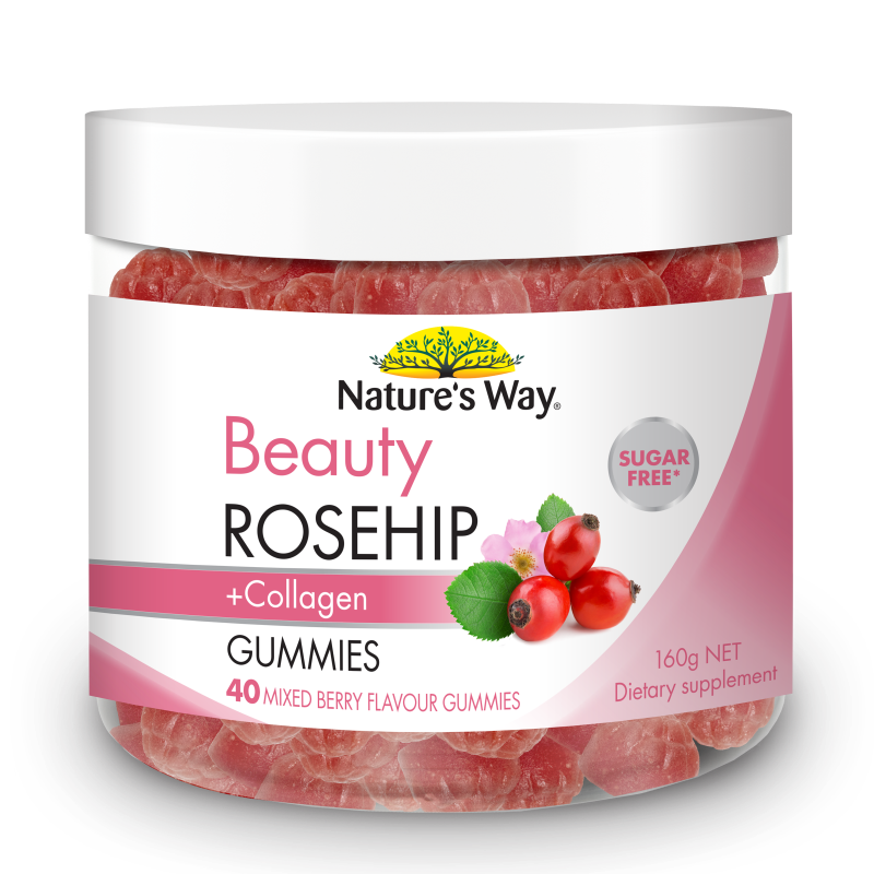 Nature's Way WAY BEAUTY ROSEHIP GUMMIES 40S