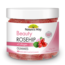 Load image into Gallery viewer, Nature's Way WAY BEAUTY ROSEHIP GUMMIES 40S