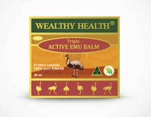 Load image into Gallery viewer, Wealthy Health Triple Active Emu Balm 50ml