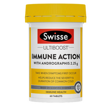 Load image into Gallery viewer, SWISSE Ultiboost Immune Action 60 Tablets