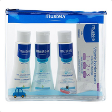 Load image into Gallery viewer, Mustela 4 Piece Travel Set
