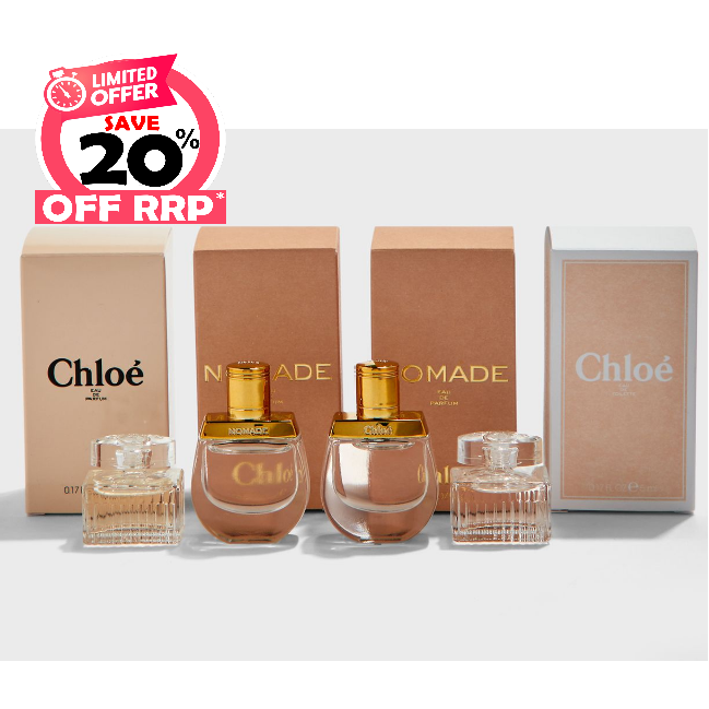 Chloe Ladies Variety Pack Gift Set Fragrances