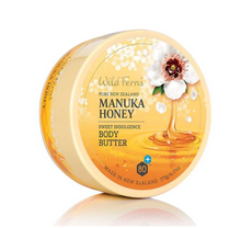 Load image into Gallery viewer, Wild Ferns Manuka Honey Sweet Indulgence Body Butter 175g