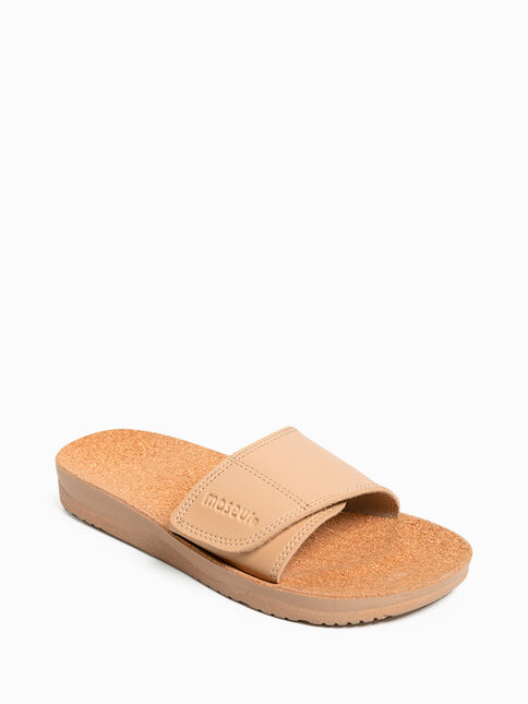 Maseur Gentle Massage Sandal - Beige