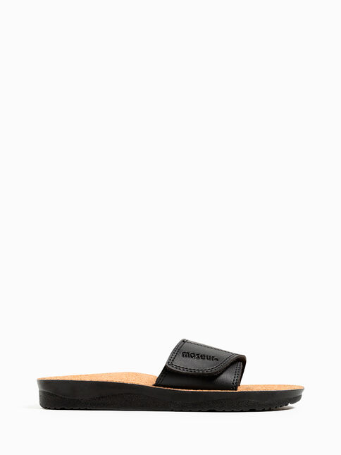 Maseur Gentle Massage Sandal - Black