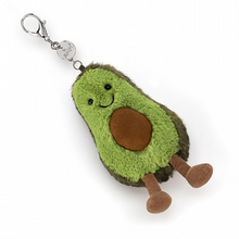 Load image into Gallery viewer, JELLYCAT Amuseable Avocado Bag Charm