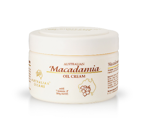 G&M Australian Macadamia Oil Cream 250g