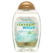 Load image into Gallery viewer, OGX Weightless Hydration + Coconut Water Shampoo 385mL