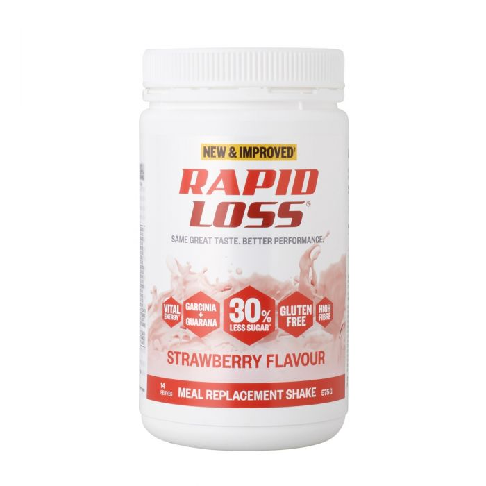 Rapid Loss Strawberry Flavour Shake 575g