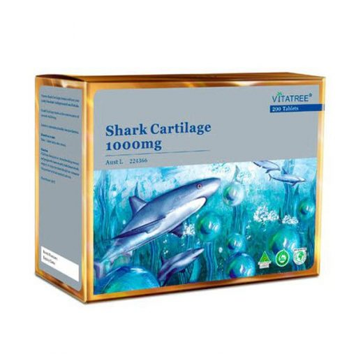 VITATREE Shark Cartilage 1000mg Pack of 2 x 100 Tablets
