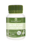 Load image into Gallery viewer, Wealthy Health Aloe-Lax Daily Detox 60 Capsules