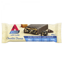 Load image into Gallery viewer, Atkins Low Crab Chocolate Brownie 60g