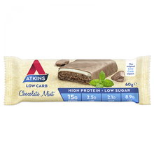 Load image into Gallery viewer, Atkins Low Crab Chocolate Mint 60g