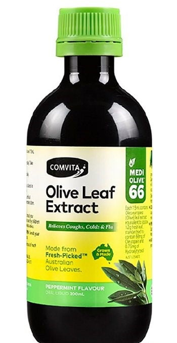 COMVITA Fresh-Picked Olive Leaf Extract Peppermint 200ml
