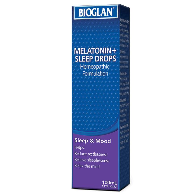 Bioglan Melatonin + Sleep Drops 100ml