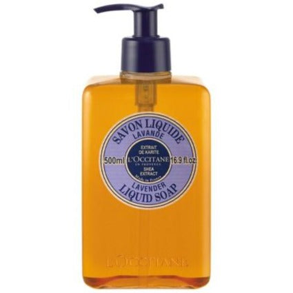 L'OCCITANE Shea Liquid Soap - Lavender 500mL