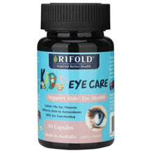 Load image into Gallery viewer, Rifold Kids Eye Care 90 Capsules