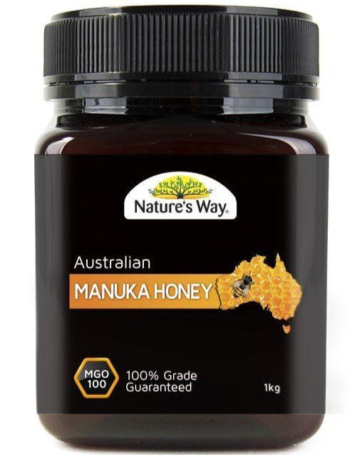 Nature's Way Australian Manuka Honey MGO100 1kg