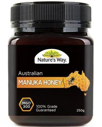 Nature's Way Australian Manuka Honey MGO300 250g