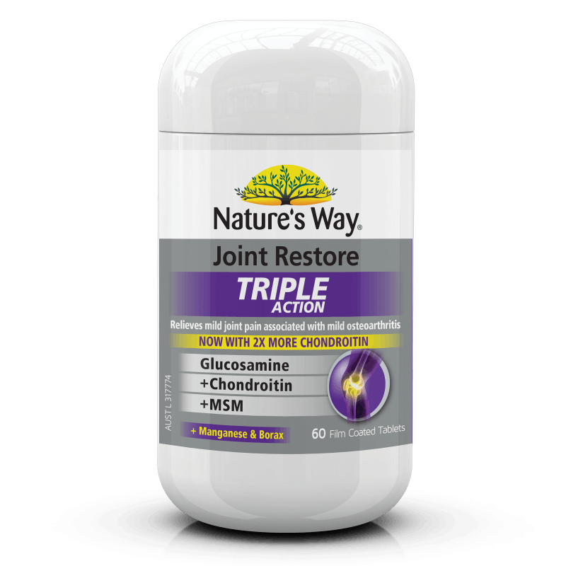 Nature's Way Joint Restore Triple Action 60 Tablets
