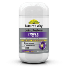 Load image into Gallery viewer, Nature's Way Joint Restore Triple Action 60 Tablets