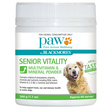 Load image into Gallery viewer, PAW by Blackmores Senior Vitality 200g
