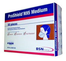 Load image into Gallery viewer, Proshield Medical N95 Masks BOX 50PCs