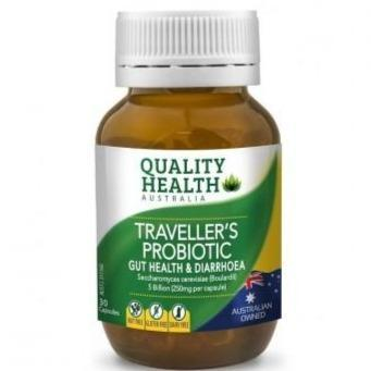 Quality Health Travellers Probiotic 30 Capsules